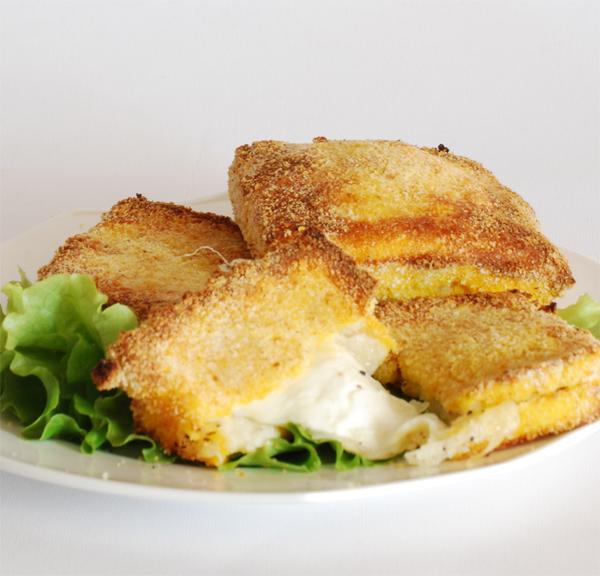 Mozzarella in carozza rezepte suchen for Ricette mozzarella in carrozza al forno
