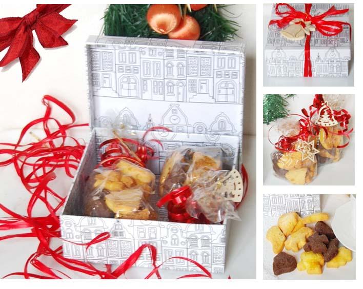 Favoloso Regali golosi fai da te: biscotti di Natale | Spunti e Spuntini RR96