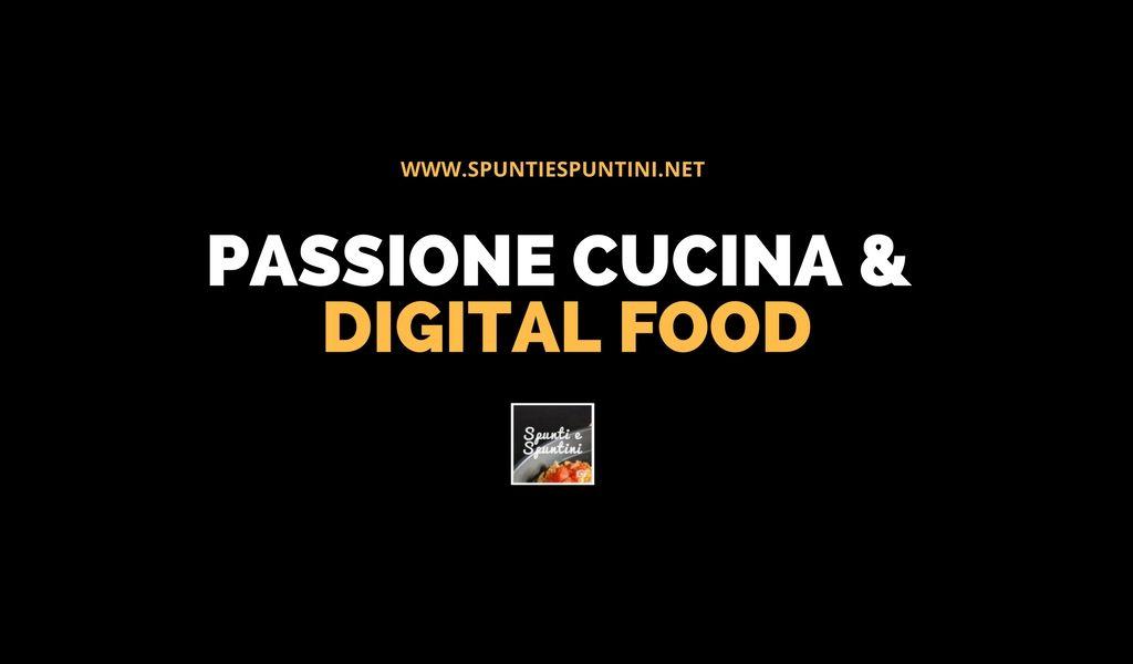 gruppo facebook passione cucina e digital food
